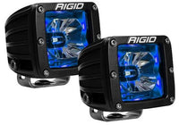 Rigid Radiance Pod LED Light Pair - Blue Illuminate Background Light