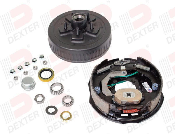 "Dexter 3.5K Axle 10"" Electric Brake, Hub & Drum Kit- Left Hand"