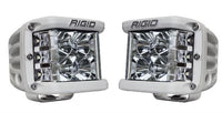 Rigid Industries Driving/ Fog Light - LED; D-SS (TM) (Dually Side Shooter) Flood Beam, Set Of 2