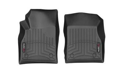 Weathertech Front Floor Liner Black 2010-2014 Ford F-150 w/ 2 retention posts & w/o 4 X 4 Manuel Shifter