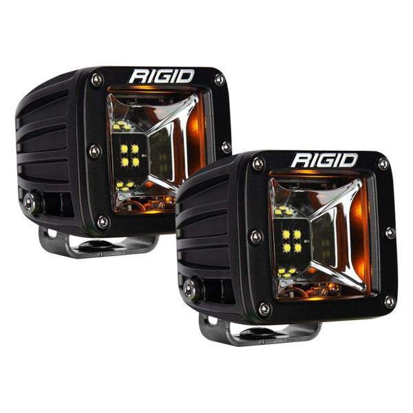 Rigid Radiance Scene 68204 LED Light Pods- Amber Back-light