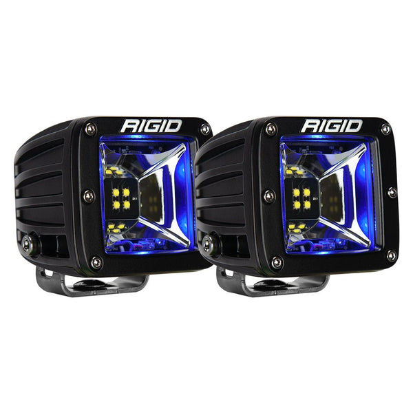 Rigid Radiance Scene 68201 LED Light Pods- Blue Back-light