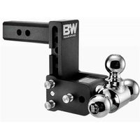 Trailer hitch, trailer ball mount, tri ball, B&W