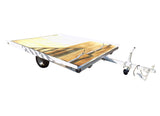 Open Tilt Bed Snowmobile Trailers - Van Kam Truck & Trailer