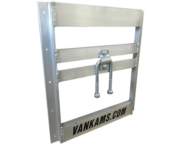 "Northbound Aluminum Wall Mount Tire Carrier, 16"" OC - Van Kam Truck & Trailer"