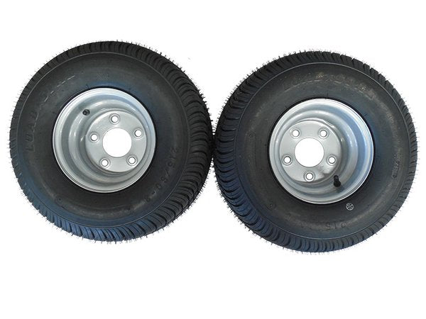 18.5 X 8.5 - 8 (215/60-8) Snowmobile trailer tire & wheel (1 PAIR)- TRITON, R&R, NORTHBOUND - Van Kam Truck & Trailer