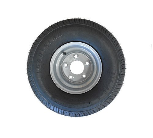 18.5 X 8.5 - 8 (215/60-8) Snowmobile trailer tire & wheel- TRITON, R&R, NORTHBOUND - Van Kam Truck & Trailer