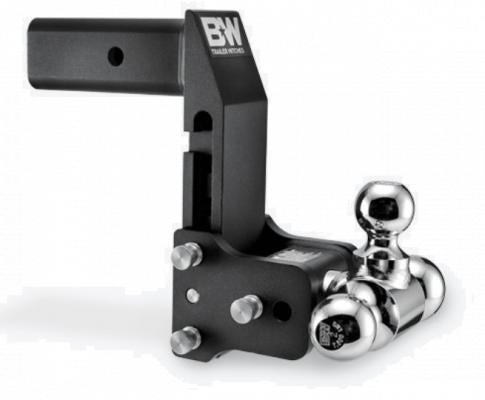 "B&W Tow & Stow TS20067BMP Adjustable Tri-Ball Ball Mount 2-1/2"" Receiver For GM Multi Pro TG"