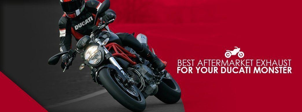 Best Aftermarket Ducati Monster Exhaust | Ducati Monster