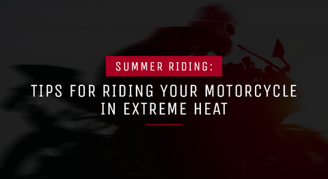 Summer tips for riding