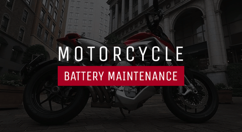 Motorcycle battery maintenance tips and more