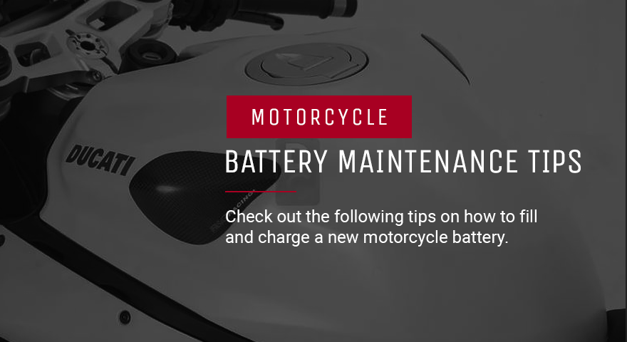 Motorcycle Battery Maintenance Tips | Winter Storage