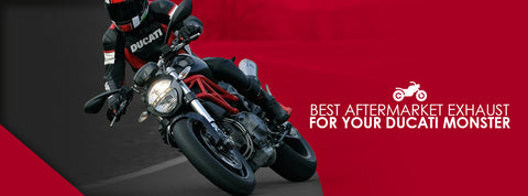 Best Aftermarket Exhaust for Your Ducati Monster