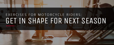 Best motorcycle rider exercises