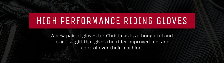 Performance motorcycle gloves