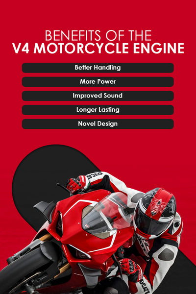 Benefits of V4 motorcycles