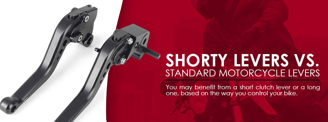 Shorty levers vs standard motorcycle levers