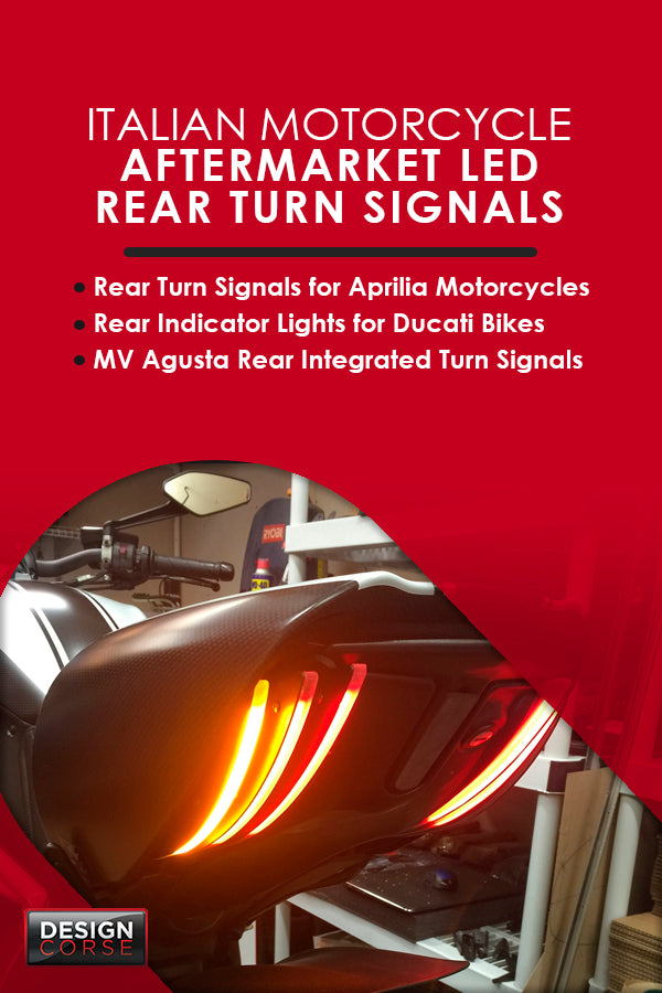 Aftermarket LED rear turn signals