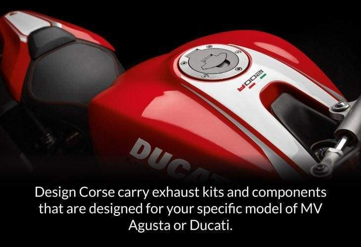 ducati exhaust kits