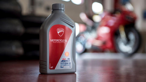 Ducati Shell Advanced Oil
