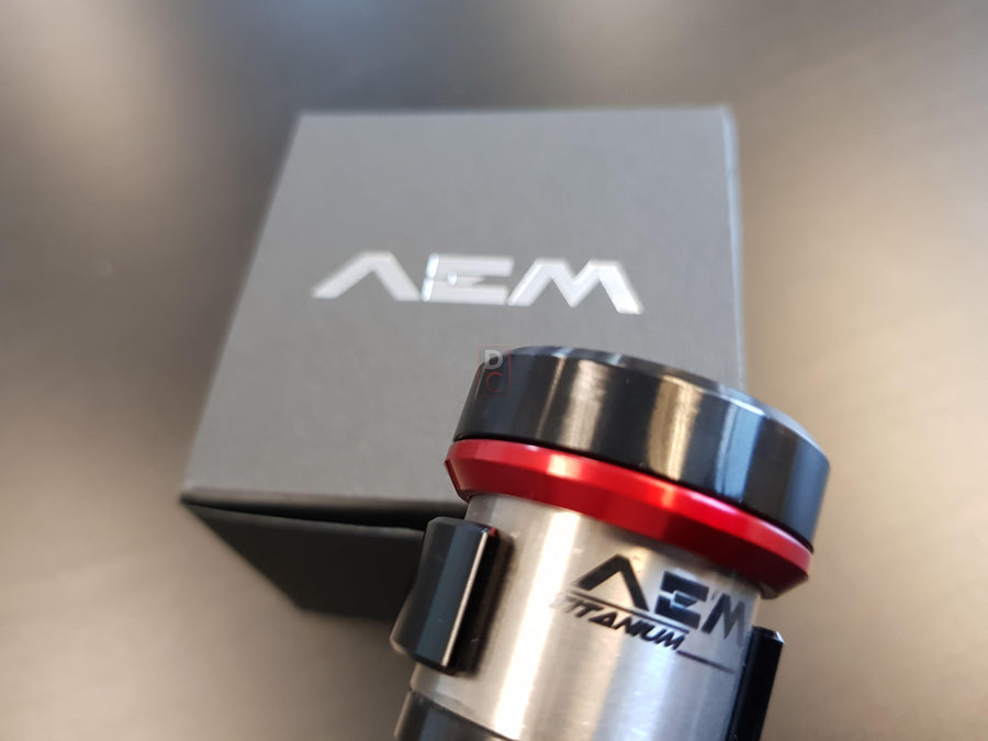 AEM Factory Titanium Remote Fluid Tank Reservoirs-Fluid Reservoirs-DESIGN CORSE