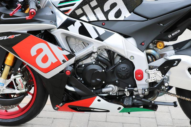 "Aprilia Left Side ""RPS"" Alternator Cover"