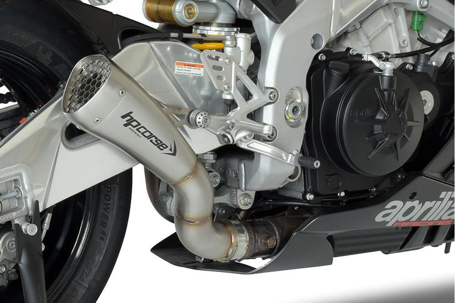 Aprilia RSV4 MY15 Exhaust Short Slip on Hydroform HP Corse-Exhaust Systems-DESIGN CORSE