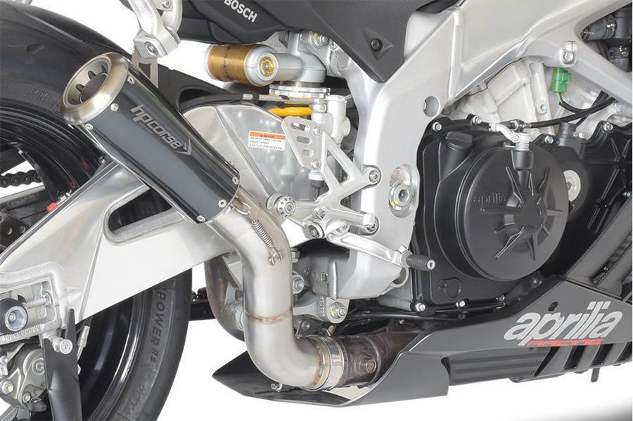 Aprilia RSV4 MY15 Exhaust Slip on GP07 HP Corse-Exhaust Systems-DESIGN CORSE