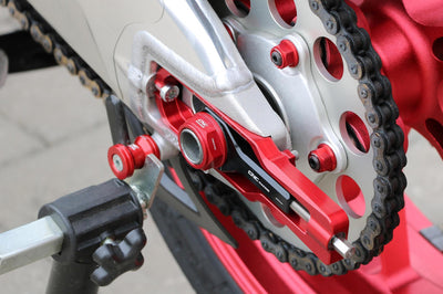 Aprilia RSV4 / Tuono V4 Chain Adjuster Kit-Sprockets-DESIGN CORSE