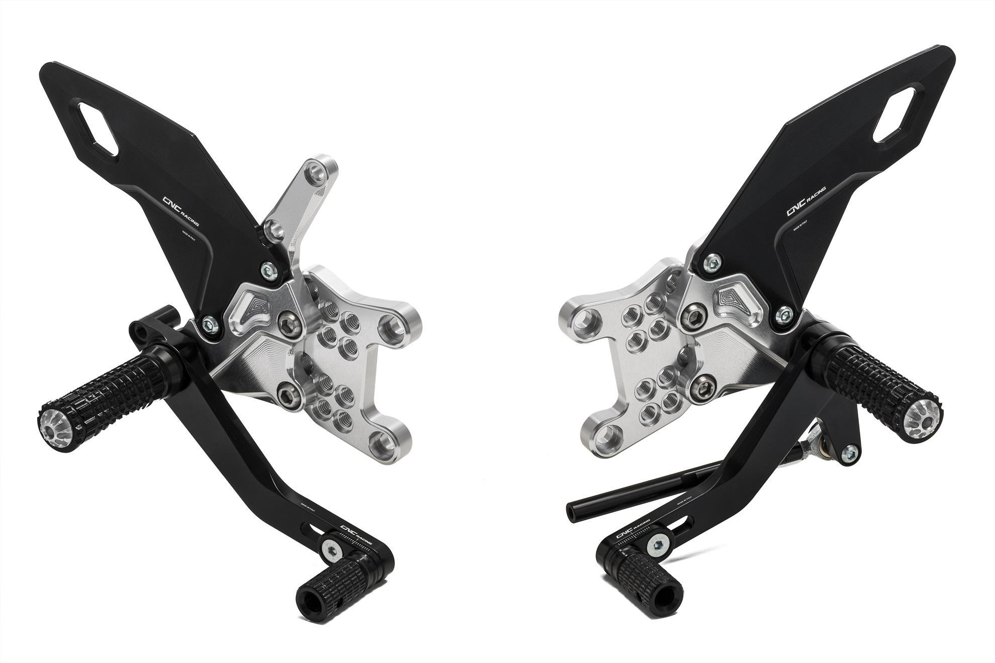 Aprilia RSV4 / Tuono V4 MY17 Easy Adjustable Rearsets