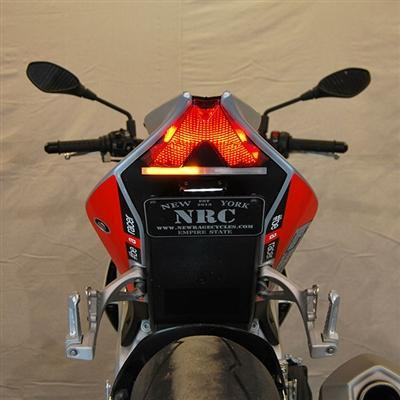 Aprilia Tuono V4 Tail Tidy Indicator Kit NRC-Tail Tidy Fender Eliminators-DESIGN CORSE