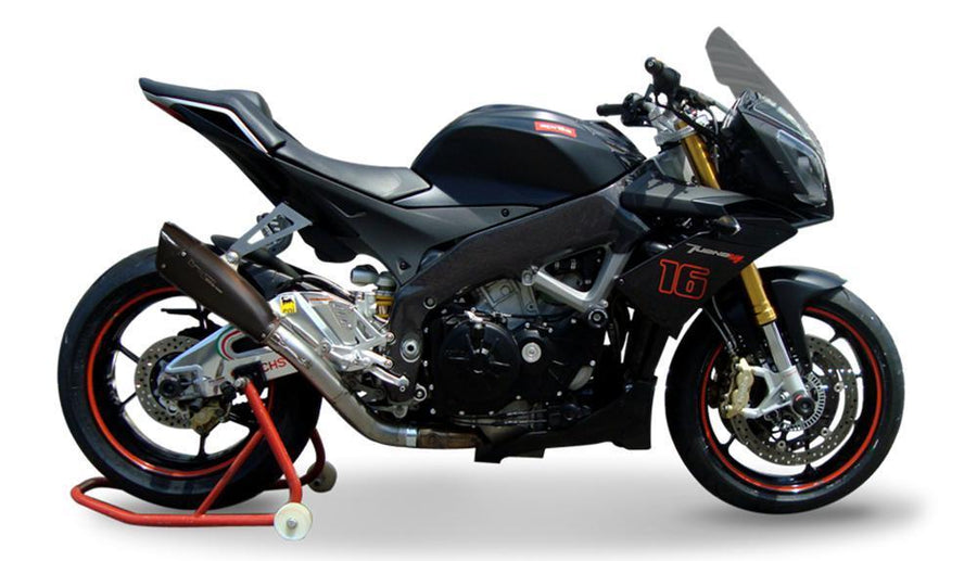 Aprilia Tuono V4R MY11 / RR / APRC Exhaust Slip on EvoExtreme 310-Exhaust Systems-DESIGN CORSE