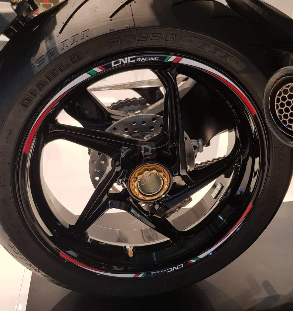 """Red R/&G Motorcycle Rim Tape for 17/"""" Inch wheels"""