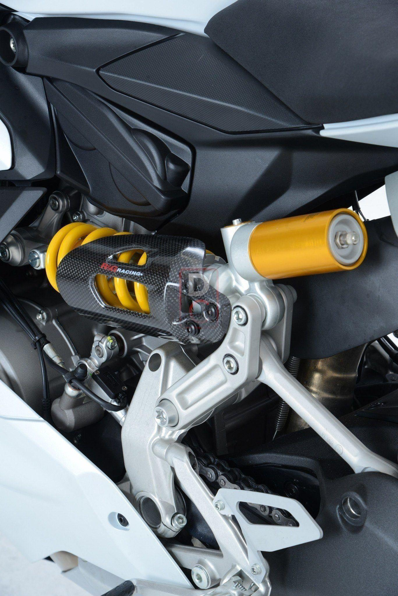 Ducati Panigale Carbon Shock Cover | Quality Carbon Fiber Cover by R&G