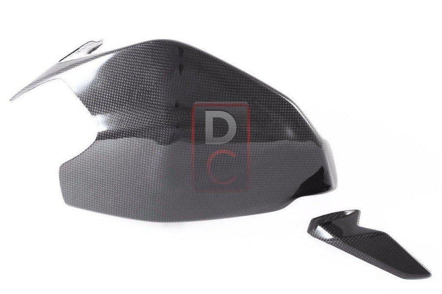 Ducati 1199 / 1299 Carbon Swingarm Guard Inc Sharkfin MOTOCORSE-Carbon Fiber-DESIGN CORSE