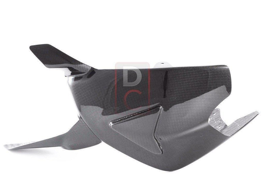 Ducati 1199 / 1299 Panigale Carbon Swingarm Guard Once Piece-Carbon Fiber-DESIGN CORSE