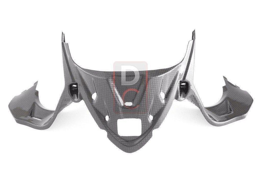 Ducati 1199 / 899 Panigale Carbon Instrument Cover Inc GPS Holder-Carbon Fiber-DESIGN CORSE