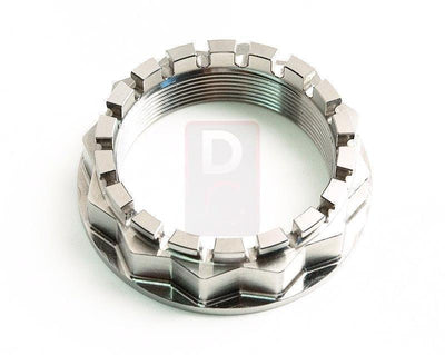 Ducati 1199 / Diavel / 1098 Sprocket Side Wheel Nut Titanium-Wheel Nuts-DESIGN CORSE