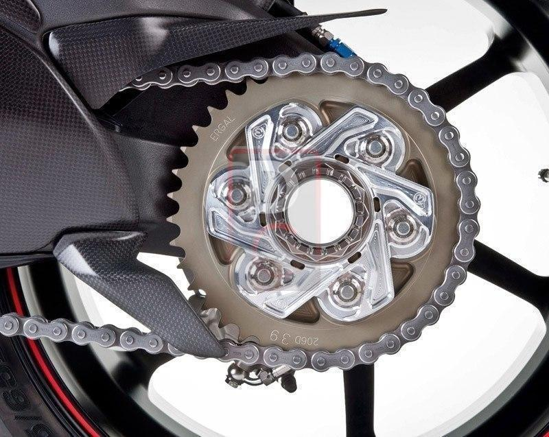 Ducati 1199 / Diavel Sprocket Carrier Cover Flange 6 Hole MOTOCORSE-Sprocket Carriers & Covers-DESIGN CORSE