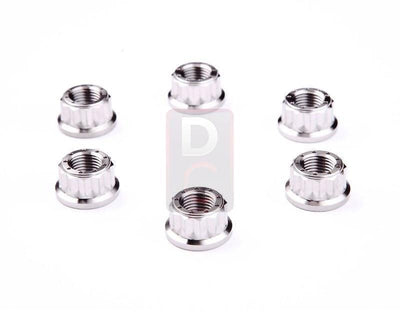 Ducati 1199 / Monster 1200 Titanium Sprocket Carrier 6 Piece Nut Kit-Bolts, Screws & Nuts-DESIGN CORSE