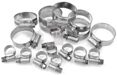 Ducati 748 916 996 Samco Hose Clamp Kit-Hose Kits & Expansion Caps-DESIGN CORSE
