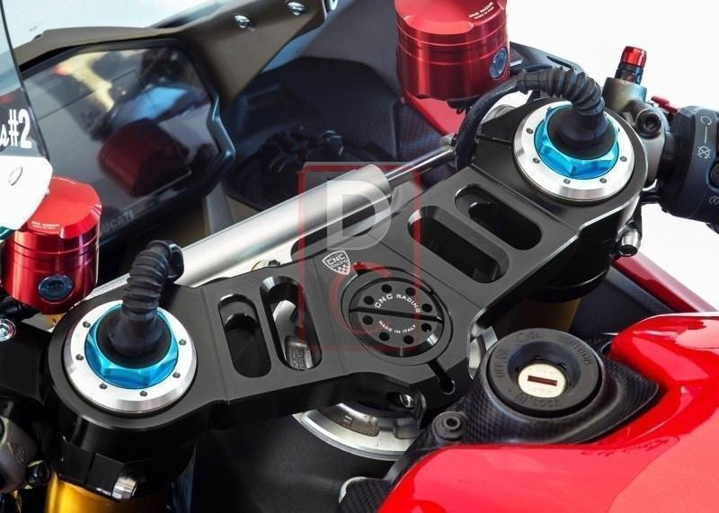 Ducati 959 / 1199 Panigale Top Yoke with Offsets Options-Yokes, Triple Tree Clamps-DESIGN CORSE