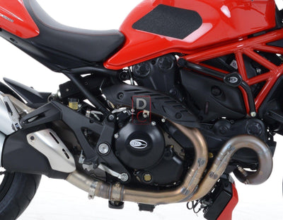 Ducati Monster 1200 / MTS Engine Case Cover-Frame & Engine Sliders-DESIGN CORSE
