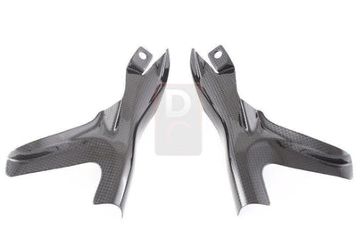 Ducati Monster 1200 MY14 Carbon Frame Cover Set MOTOCORSE-Carbon Fiber-DESIGN CORSE
