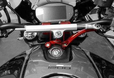 Ducati Monster 1200 / R Steering Damper Kit-Suspension & Steering Dampers-DESIGN CORSE