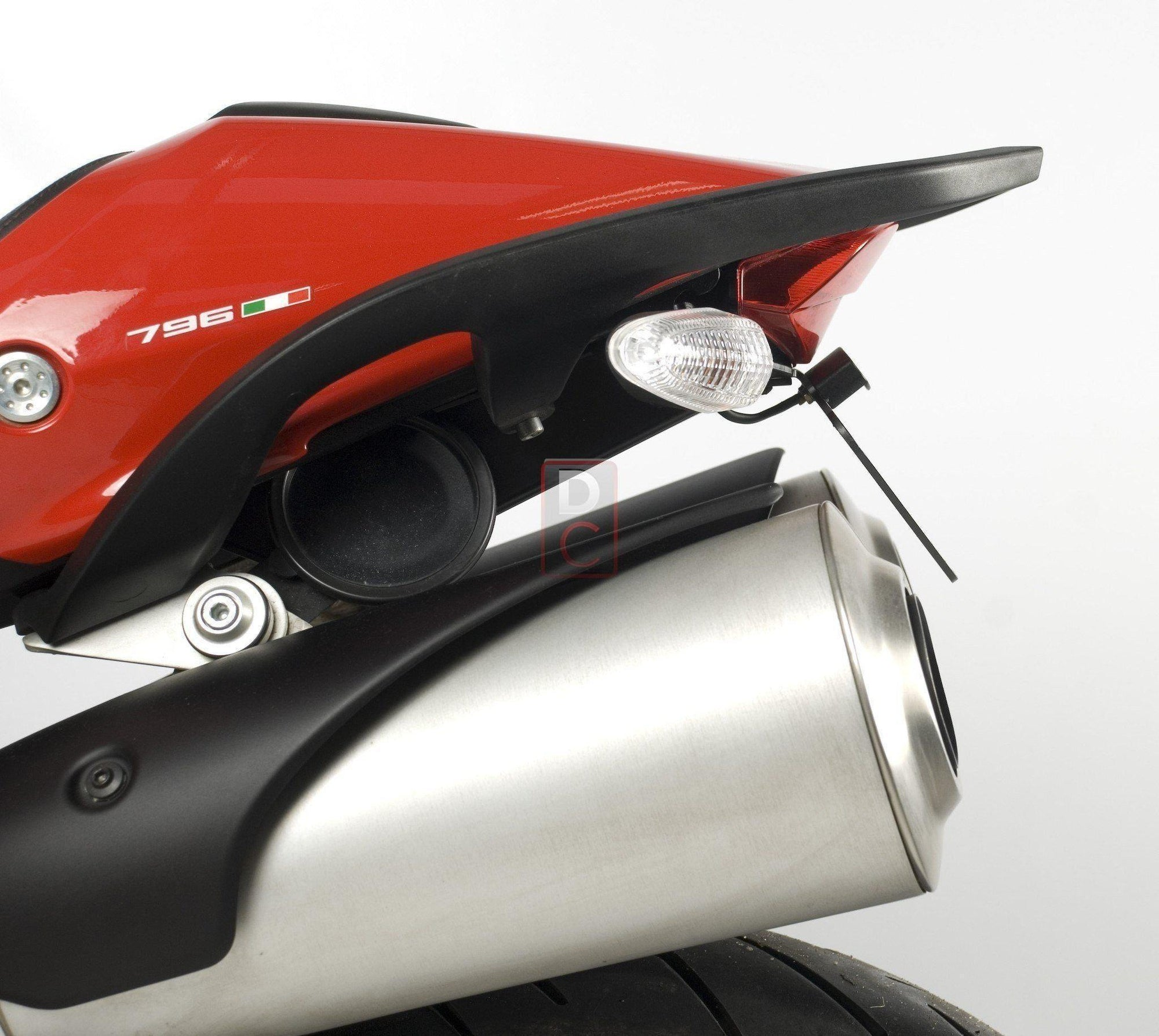R/&G Racing Tail Tidy For Ducati 2008 Hypermotard 1100 S