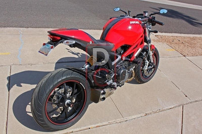 Ducati Monster 796 QD Ex Box Exhaust-Exhaust Systems-DESIGN CORSE