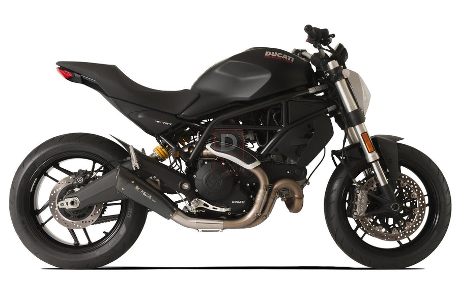 Ducati Monster 797 Exhaust Low Slip on EvoExtreme 260-Exhaust Systems-DESIGN CORSE