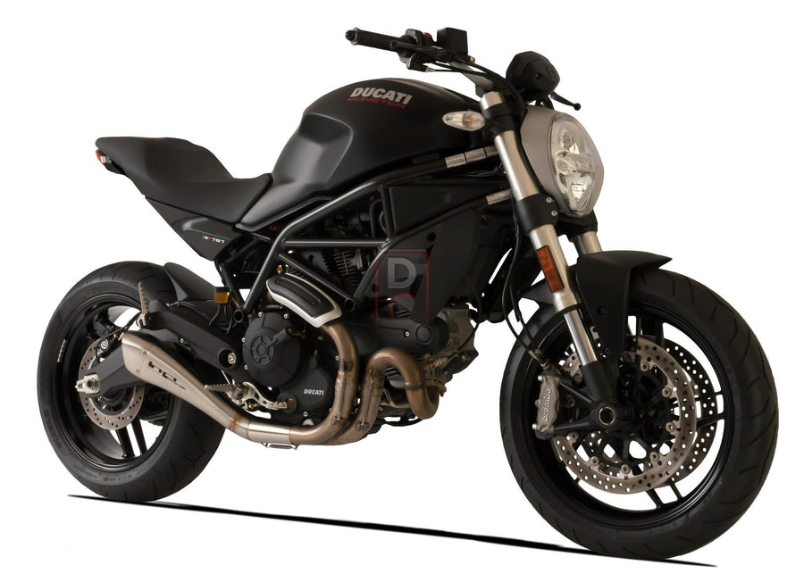 Ducati Monster 797 Exhaust Slip on Hydroform HP Corse-Exhaust Systems-DESIGN CORSE