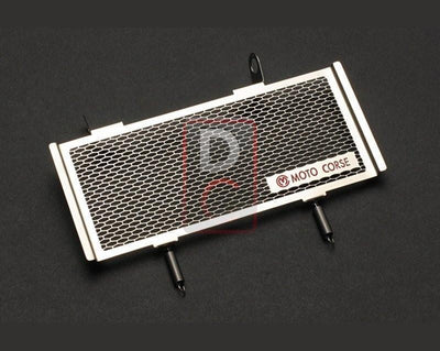 Ducati Monster S4R Oil Cooler Titanium Guard-Radiators & Cooler Guards-DESIGN CORSE